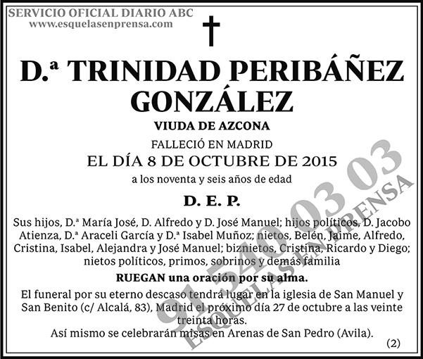 Trinidad Peribánez González